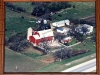 Friendly Acres farm in 1987 (aerial view)