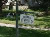 Signpost on Mueller farm in 2010