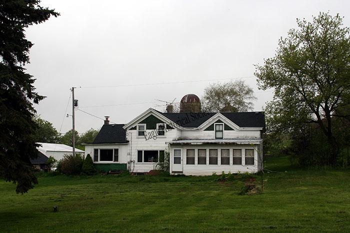 Nelson farmhouse in 2009