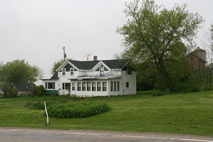 Nelson farmhouse in 2009- alternate view