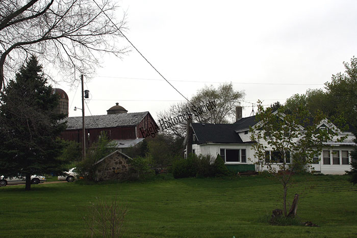 Nelson farm- house and barns in 2009