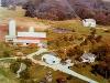 Gerald Nelson farm- circa 1970 (aerial photograph)