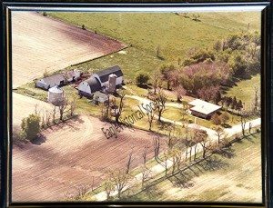 aerial photo of Hillcrest Farms-1980
