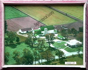 aerial photo of Hillcrest Farms-1966