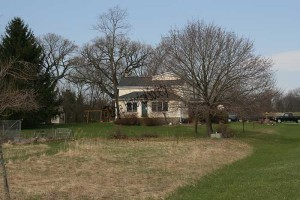 Former Badinger farm house- Spring 2009