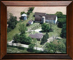 aerial photo of Hillcrest Farms-1981