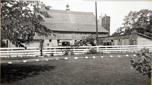 The barnyard-1940's