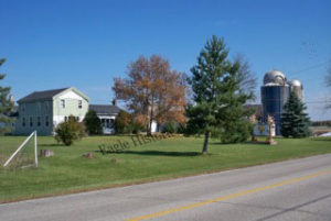 Royal Angus Farms II, Eagle, Wisconsin- view from the road.