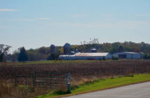Distant View of Royal Angus Farms II, Eagle, Wisconsin.