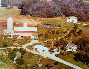 Gerald Nelson farm- circa 1970