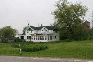 Nelson farmhouse in 2009- alternate view