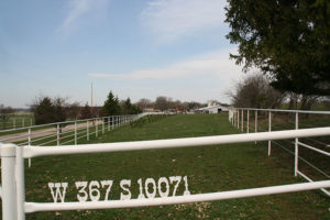 Southwind ranch fences and address in 2009
