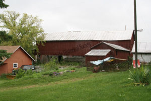 Buildings on Loefer farm in 2009