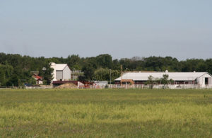 Buildings on the Southwind ranch in 2009